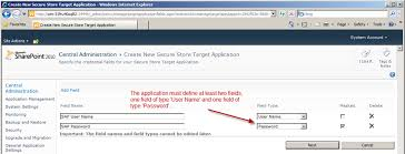 how to use sharepoint 2010 secure store as single sign on service