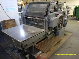 die cutters used finishing machines heidelberg s cylinder die cutter