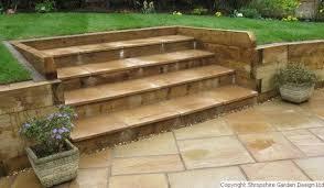 Tiered Garden Ideas Shropshire Garden Design Ltd