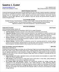free finance resume templates 24 free word pdf documents
