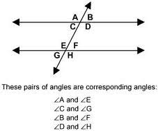 Example Of Alternate Interior Angles Stageometrych3 Corresponding Angles Postulate And Consecutive