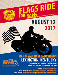 Kentucky Flags Flags Ride For Usa Cares Lexington Ky Tickets Sat Aug 12