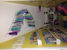 bailee u0027s under the stair closet turned into a cute book nook