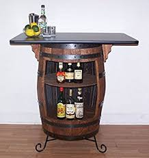 Barrel Bar Table Buy Vintage Whiskey Barrel Table Black Top W Chess Board Chess