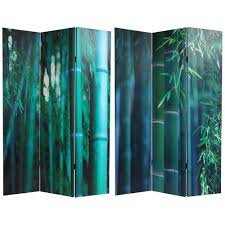 6 ft printed 3 panel room divider can door the home depot