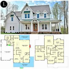 house and floor plans imposing decoration farm house floor plans custom home new modern