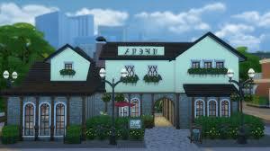 European Houses Mod The Sims European Taste Bakery