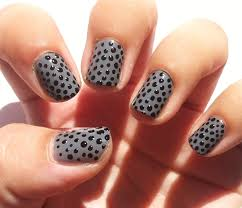 picture 3 of 4 easy black nail gel designs photo gallery