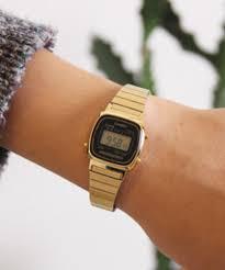 casio donna piccolo casio orologio femminile digitale la670wga 1 oro time dorato