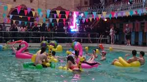 house pool party watch boiler room recreated a legendary acid house pool party in