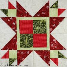 free quilt pattern george bailey star block quilting