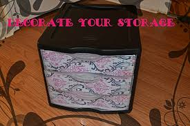 diy decorate your storage container