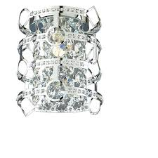 Shop Wall Sconces At Lowes by Shop Style Selections Kentley 7 In W 1 Light Chrome Pocket Wall