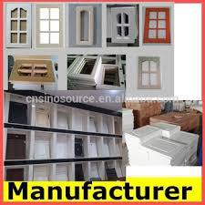 Modern Solid Wood Pvc Mdf Frame Door High Gloss Acrylic Kitchen - High gloss kitchen cabinet doors