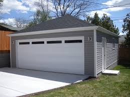garage detached garage with living space above car shed plans