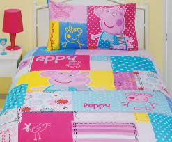 Peppa Pig Toddler Duvet Cover Peppa Pig Patch Quilt Cover Set Peppa Pig Bedding Kids Bedding