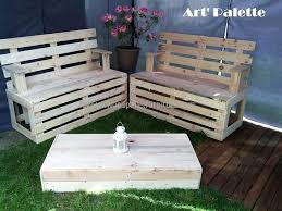 Outdoor Furniture Made From Pallets by Wood Pallet Furniture Ideas Plans And Diy Projects