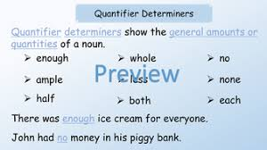 ks2 sats english grammar revision on determiners powerpoint