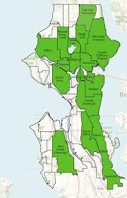 seattle map green lake neighborhoods seattle neighborhood greenways cgive