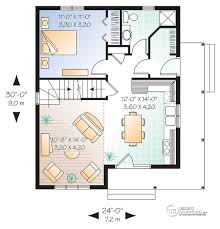 plan de maison unifamiliale w2597 maison pinterest smallest