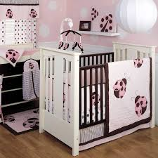Brown And Pink Crib Bedding Best Pink And Brown Crib Bedding Designs Home Inspirations