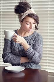 crocheted headbands free crochet latte headband pattern expression fiber arts a