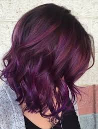brown plum hair color sweet plum hair colors for 2018 best hair color ideas trends