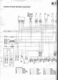 xt500e wiring diagram yamaha xt500 tt500 forum