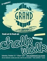 south grand chalk walk in saint louis at south grand