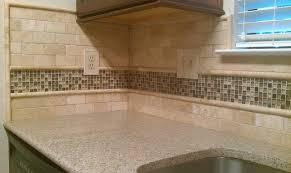 Tumbled Travertine Backsplash Tile  Great Home Decor Uniqueness - Travertine backsplash tile