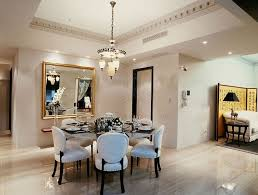 dining room table six chairs goegous dining room design using glass round table and six chairs
