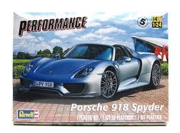 porsche new model porsche 918 spyder revell 85 4329 1 24 new car model kit porsche