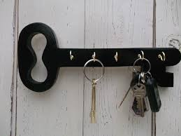 wood key holder key hooks cottage decor hang different ways