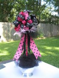 How To Make Ribbon Topiary Centerpieces by Diy Deco Mesh Poof Topiary Tutorial This Poof Is So Cute Thanks