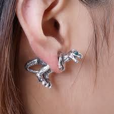 t rex earrings silver 2 t rex stud earrings sour cherry