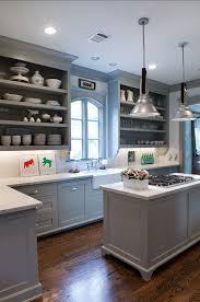 Gray Painted Kitchen Cabinets by Blue Grey Painted Kitchen Cabinets Exitallergy Com