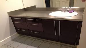 Kitchen Cabinet Refacing Before And After Bathroom Cabinets Concealed Handle Drawers Bathrooms Vanity