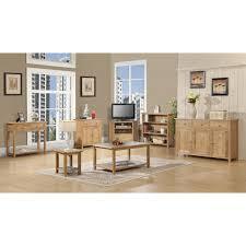 Easton Oak Living Room Furniture Corner TV Cabinet Stand Unit - Oak living room sets