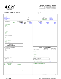 bid estimate template 100 construction contracts templates 12 work contract template