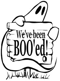 boo ghosting sign large clip art at clker com vector clip art