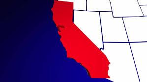 california map hd california map stock footage