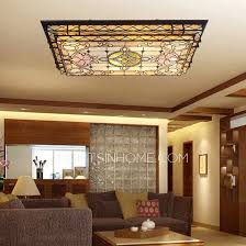 Ceiling Ls For Living Room Rectangular Shaped Led Flush Mount Ceiling Light