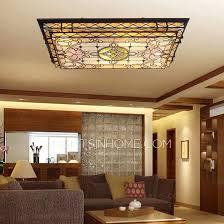 Living Room Ceiling Ls Rectangular Shaped Led Flush Mount Ceiling Light