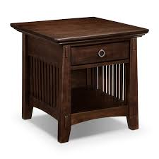 rustic end tables cheap small end table with shelves best table decoration