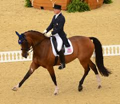 in olympic dressage some of the stories are outside the arena
