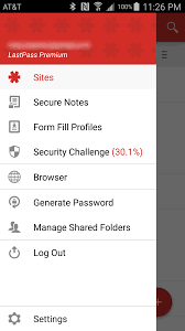 last pass apk lastpass joins the material adds a fab and reorganizes