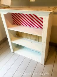 Bookcase To Bench Turning A Bookcase Into A Bench Using Old Fashioned Milk Paint