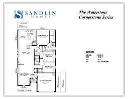 sandlin floorplans waterstone u2013 sandlin homes