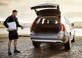 presents delivery volvo in car delivery fills your car trunk with presents 95 octane