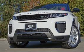 range rover evoque land rover 2017 range rover evoque convertible road test review carcostcanada